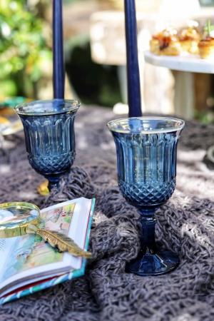 Copa Azul Oscuro Rosalie Collection